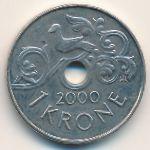 Норвегия, 1 крона (2000 г.)