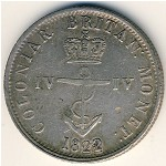 British West Indies, Quarter dollar, 1820–1822
