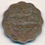 Багамские острова, 10 центов (1989 г.)