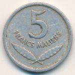 Мали, 5 франков (1961 г.)