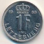 Люксембург, 1 франк (1988 г.)