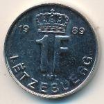 Люксембург, 1 франк (1989 г.)