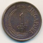 Сингапур, 1 цент (1970 г.)