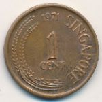 Сингапур, 1 цент (1971 г.)