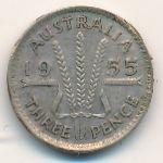 Австралия, 3 пенса (1955 г.)