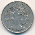 Зимбабве, 10 центов (1980 г.)