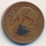 Замбия, 1 нгве (1972 г.)