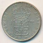 Швеция, 1 крона (1967 г.)