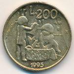 Сан-Марино, 200 лир (1995 г.)