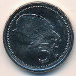 Папуа - Новая Гвинея, 5 тоа (2005 г.)