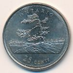 Канада, 25 центов (1992 г.)