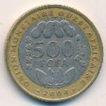 Западная Африка, 500 франков (2004 г.)