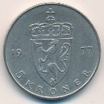 Норвегия, 5 крон (1977 г.)