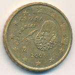 Испания, 10 евроцентов (1999–2005 г.)