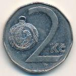 Чехия, 2 кроны (1993 г.)