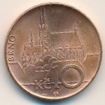 Чехия, 10 крон (2009 г.)