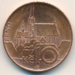Чехия, 10 крон (2016 г.)