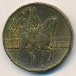 Чехия, 20 крон (1998–2004 г.)
