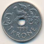 Норвегия, 1 крона (1999 г.)