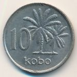 Нигерия, 10 кобо (1989 г.)