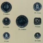Антильские острова, Набор монет