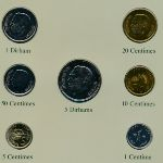 Марокко, Набор монет