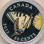 Канада, 50 центов (2013 г.)