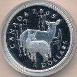 Канада, 5 долларов (2005 г.)