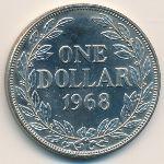 Либерия, 1 доллар (1968 г.)