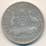 Австралия, 1 флорин (1931 г.)
