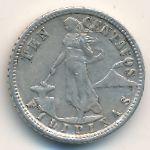 Филиппины, 10 сентаво (1929 г.)