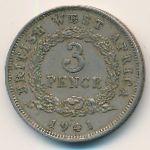 Британская Западная Африка, 3 пенса (1941 г.)