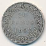 Ньюфаундленд, 20 центов (1899 г.)