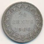 Ньюфаундленд, 20 центов (1900 г.)