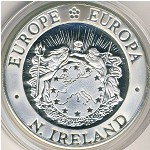 Northern Ireland, 25 ecu, 1992