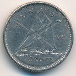 Канада, 10 центов (1969–1978 г.)
