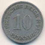 Германия, 10 пфеннигов (1901 г.)