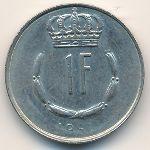 Люксембург, 1 франк (1981 г.)