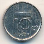 Нидерланды, 10 центов (1982 г.)