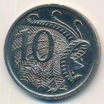 Австралия, 10 центов (1967–1984 г.)