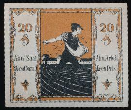 Тондорф., 20 пфеннигов (1921 г.)