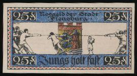 Фленсбург., 25 пфеннигов (1920 г.)