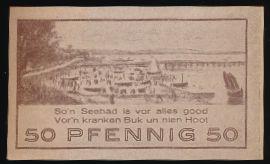 Ниндорф., 50 пфеннигов (1921 г.)