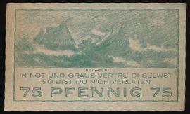 Ниндорф., 75 пфеннигов (1921 г.)