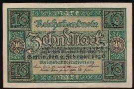 Берлин., 10 марок (1920 г.)