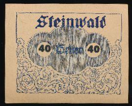 Штайнвальд., 40 геллеров
