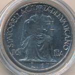 Ватикан, 1 лира (1942 г.)