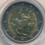 Ватикан, 2 евро (2008 г.)