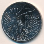 Центральная Африка, 500 франков (1976 г.)