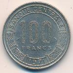 Конго, 100 франков (1971 г.)